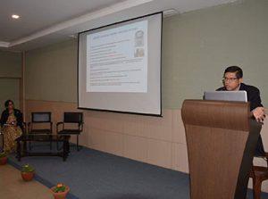 Manoj Barpujari presents his paper, 'New Wave in the cinema of North East India' | Cotton University, Guwahati
