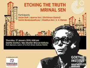 Siladitya Sen speaks at Mrinal Sen tribute | Goethe-Institut/Max Mueller Bhavan, Kolkata