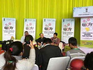 Utpal Borpujari chairs a panel on Media and Documentary Films | GICFF, Guwahati