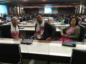 Utpal Borpujari, at an interactive session on the past, present and future of Assamese cinema | Guwahati