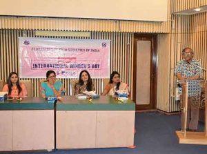 Premendra Mazumder speaks at the FFSI International Women's Film Festival | Nandan, Kolkata