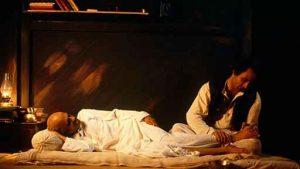 Film still: Gandhi My Father